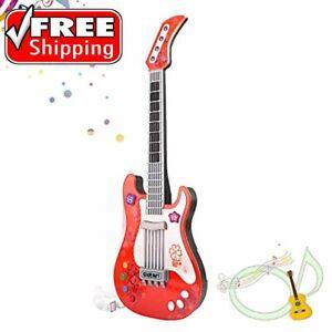 M SANMERSEN Kids Guitar No String Electronic Toy Guitar Kids Play Guitar Music