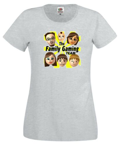 The Family Gaming Team T Shirt FGTeeV Nerd Geek Youtube Mike Gift Women Tee Top