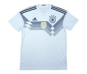Germania 2018-19 Authentic Home Shirt (OTTIMO) M SOCCER JERSEY