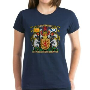 CafePress-Scotland-Coat-Of-Arms-T-Shirt-Women-039-s-Cotton-T-Shirt-195329589