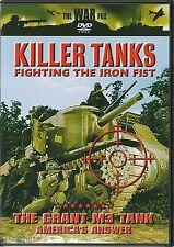 KILLER TANKS FIGHTING THE IRON FIST DVD - THE GRANT M3 TANK AMERICA'S ANSWER