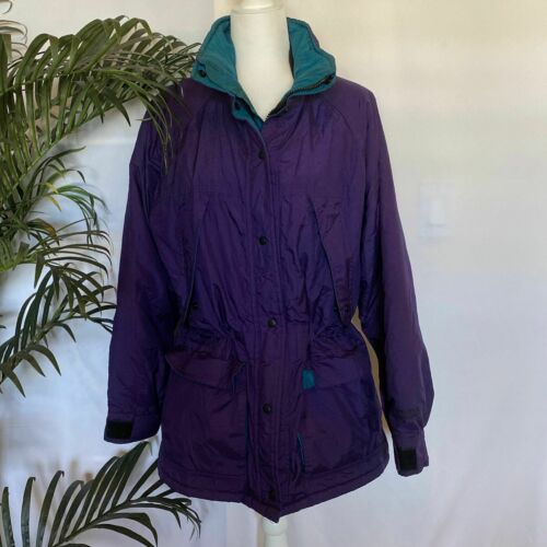 Solstice Winter Coat Purple Sz Med