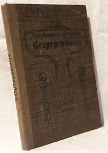 Radient Marcel Mathis Systematisch Geordnete Gesprächstoffe (ed. Didier 1939) Sütterlin