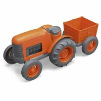 Green Toys Tractor Vehicle, Orange , New, Free Shipping
