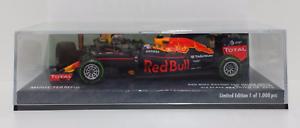 Minichamps 1/43 Max Red Bull Rb12 Tag-heuer 3ème Gp Brésil 2016 Nouveau