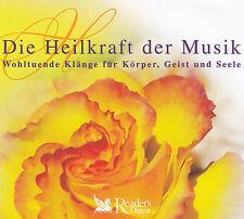 DIE HEILKRAFT DER MUSIK - 4 CD - Wohltuende Klänge für Körper, Geist und Seele
