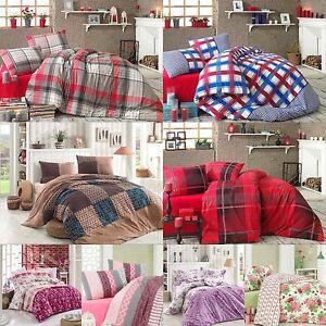 fein biber bettw sche 135x200 200x220 155x220 cm feinbiber feinbiber bettw sche ebay. Black Bedroom Furniture Sets. Home Design Ideas