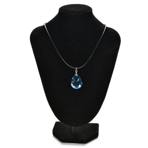 Cosplay Light blue Crystal Necklace for Sword Art Online SAO Kirito Asuna/'s HI