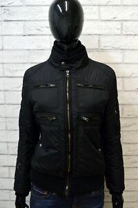 FAY-Donna-Giubbotto-Nero-Piumino-Taglia-Size-M-Giacca-Jacket-Woman-Black-Italy