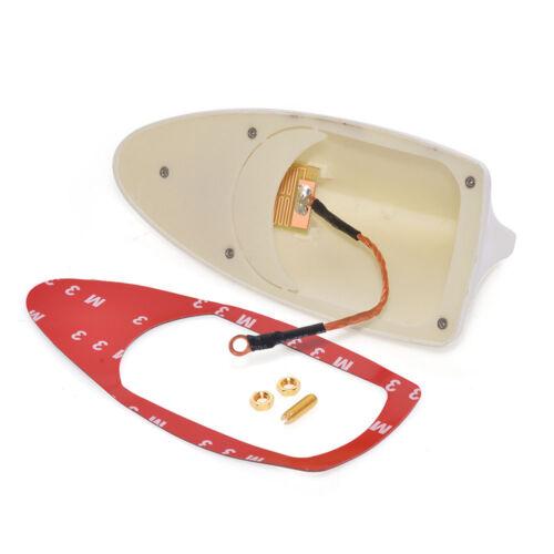 Universal Auto Car ABS Roof Radio AM//FM Aerial Signal Shark Fin Style Antenna
