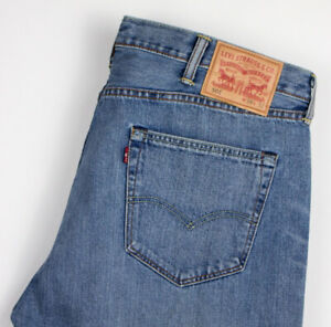 Levi-039-s-Strauss-amp-Co-Hommes-501-Jeans-Jambe-Droite-Taille-W38-L26-AKZ691