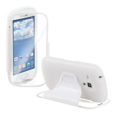 kwmobile Schutz Hülle für Samsung Galaxy S3 Mini Weiß Silikon Case Cover Handy