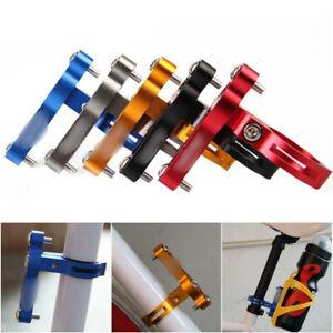 Fahrrad-Flaschenhalter-Befestigung-Adapter-Trinkflasche-Halter-Kinderwagen-Neu
