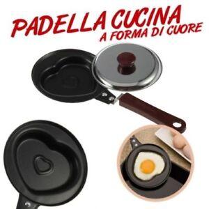 Padella Cucina Uovo Cuore Love San Valentino Stampo Antiaderente Romantico