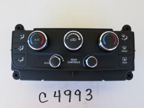 11 12 13 14 CARAVAN CLIMATE CONTROL PANEL TEMPERATURE UNIT A//C HEATER OEM C4993