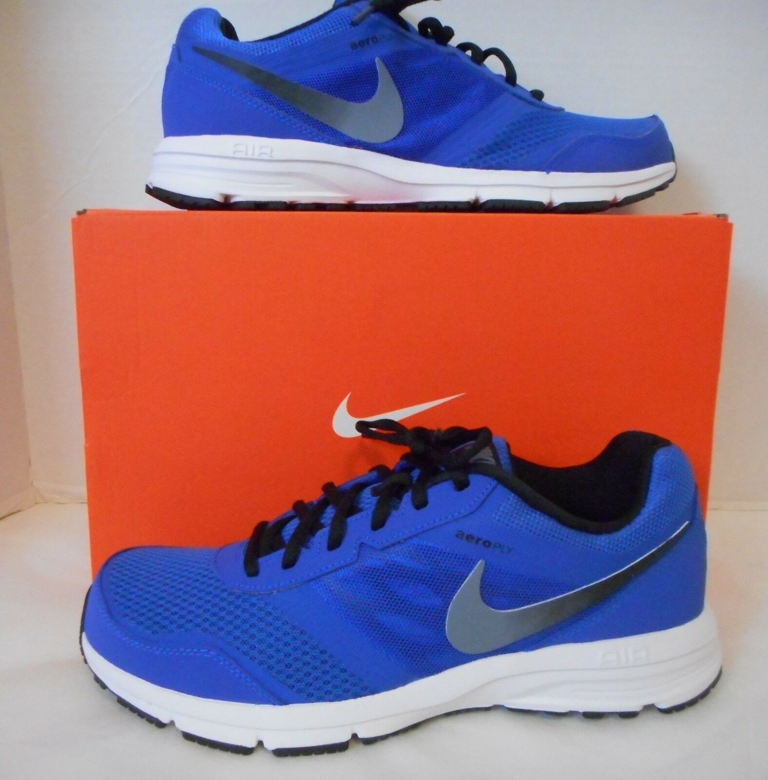 NIB Nike Men's Air Relentless 4Athletic Running  shoes Lyon bluee Sizes 9, 9.5, 13