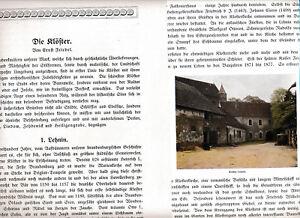 Exquisite Handwerkskunst; 4 Photodrucken Kapitel M Klöster Lehnin Chorin Lindow Zehdenick 1920 Orig