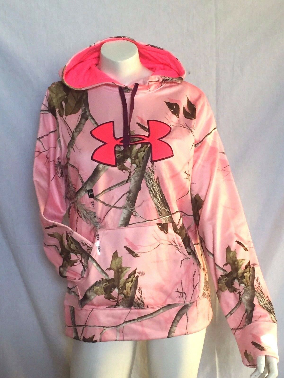 Under Armour Hoodie Realtree You Pick Mossy Oak Camo UA Storm Woman Ladies