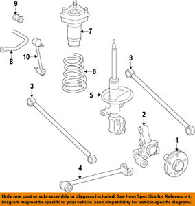 Details about TOYOTA OEM 84-91 Camry Stabilizer Sway Bar-Rear-Bushings on