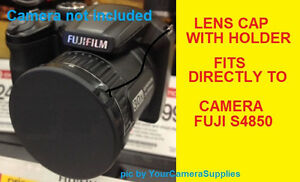 LENS-CAP-SLIP-ON-DIRECTLY-TO-CAMERA-FUJI-S4850-HD-S4850HD-FINEPIX-FUJIFILM-HOLD