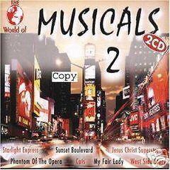CD Die Welt Des Musical Volume 2 von Various Artists 2CDs