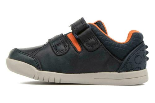 Trail Walk FREE P/&P! Blue Boys Clarks First Walking Casual Shoes