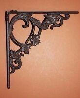 "(3) cast iron corbel,decorative elegant corbel,elegant metal corbel,9 3/8"" B-37"