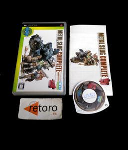 METAL-SLUG-COMPLETE-Sony-PSP-JAP-Playstation-Portable-Completo-SNK