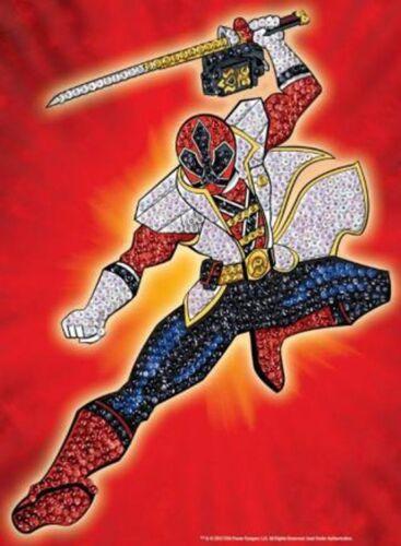 KSG Sequin Art Pin It Paillettenbild Red Power Ranger 1212