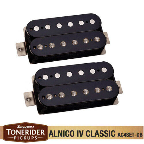 Black TONERIDER Alnico IV PAF Style