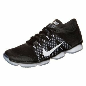 sports shoes cf48c 9ef14 Image is loading NIKE-WMNS-AIR-ZOOM-FIT-AGILITY-2-BLACK-