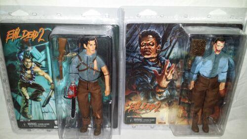 NECA MISP Evil Dead 2 movie HERO DEADITE ASH set retro clothed action figures