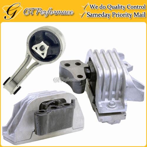 Hydraulic! Quality Engine /& Trans Mount Set 3PCS for 11-18 Dodge Journey 2.4L