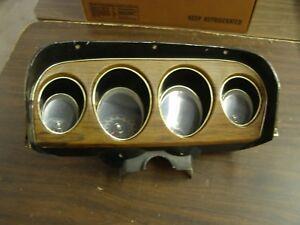 OEM-Ford-1969-Mustang-Dash-Cluster-Gauges-Speedometer-Woodgrain