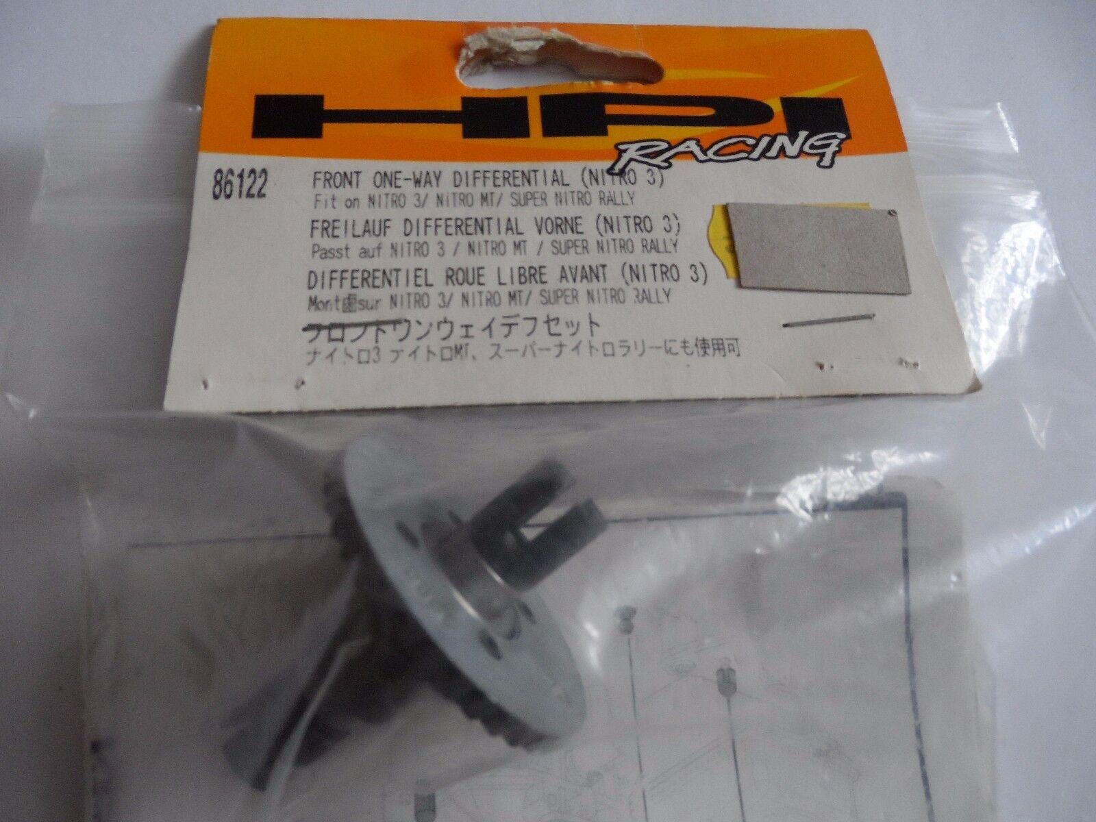 Rare HPI Front One-Way Differential Unit For Nitro 3 MT Super Nitro Rally 86122