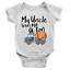 Uncle Loves Me a Ton Babygrow Toy Truck Funny Body Suit New Born Present Gift