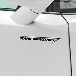2x-Stark-Industries-20cm-Autoaufkleber-Seitenaufkleber-JDM-Sticker-Iron-DUB-GEEK
