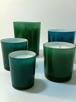 ED On Air Set of 5 Decorator Candles by Ellen DeGeneres Red Holiday Berries