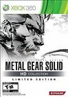 Metal Gear Solid HD Collection -- Limited Edition (Microsoft Xbox 360, 2011)