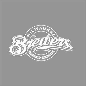 Milwaukee Brewers MLB Team Logo Color Vinyl Decal Sticker Car - Custom vinyl decals milwaukee