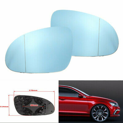Left /&Right Front Mirror Glass Heated for VW Jetta 2005 2006 2007 2008 2009 2010