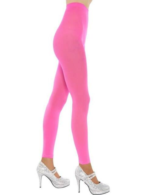 FOOTLESS TIGHTS, PINK, ONE SIZE, WOMENS #CA