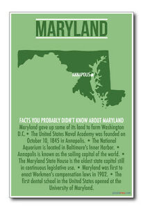 Maryland-NEW-US-Travel-Poster