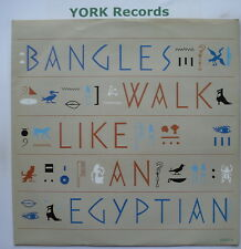 """BANGLES - Walk Like An Egyptian - Excellent Condition 12"""" Single CBS 650071 6"""