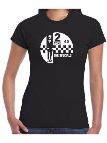 2 TONE T-SHIRT/_THE SPECIALS/_SKA/_CD/_Vinyl Music Records 17 Sizes 9 Designs