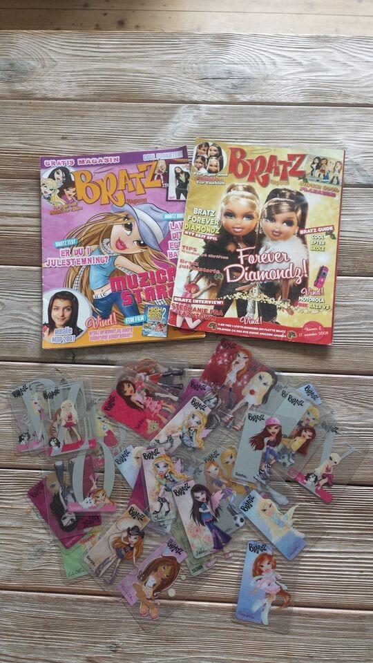 Andet legetøj, spil/bog/film, Bratz