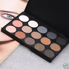 15 Color Professional Matte Shimmer Eyeshadow Palette Warm Eye Shadow Makeup Kit