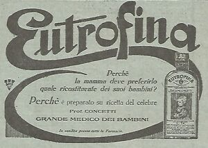 W4370-EUTROFINA-ricostituente-Pubblicita-del-1930-Vintage-advertising