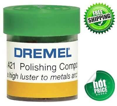 approx 25g NEW Dremel 421 Polishing Compound Tubs metal plastic 5