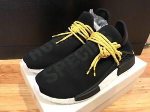 a9cfd754bd1d5 adidas NMD HU Pharrell Human Race Core Black Brand New 100 ...